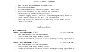 easy basic resume exle resume resume template microsoft word basic resume templates