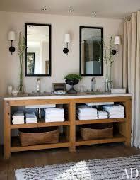 Best 25 Farmhouse Bathroom Sink Ideas On Pinterest Farmhouse Lovely Inspiration Ideas Bathroom Vanity With Shelves 25 Best Open
