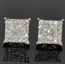 what size diamond earrings best 25 diamond earrings for men ideas on gold