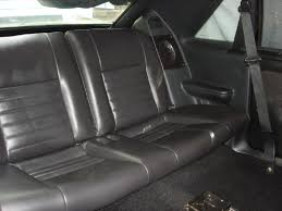 Black Fox Mustang Sn95 Rear Seats Into Fox Hatch How Ford Mustang Forums