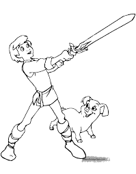the black cauldron coloring pages disney coloring book