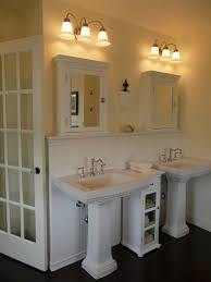 Bathroom Pedestal Sink Storage Cabinet by My Mo Farmhouse Bath This Is Our Master Bath I Wanted It To