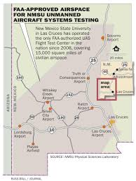 Silver City New Mexico Map by New Mexcio State University Unmanned Aircraft Systems Flight Test