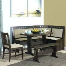 corner kitchen table with storage bench new way to find best home