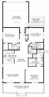 large one story house plans singlestoryopenfloorplans single story plan 3 bedrooms 2 intended
