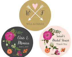 wedding favor labels wedding favor stickers wedding labels personalized stickers