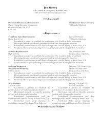 Communication On Resume Gpa On A Resume Resume For Your Job Application
