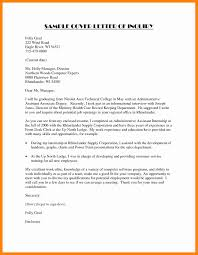 8 inquiry letter for job resume sections