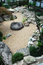 Modern Rock Garden by Side Yard Landscaping Yards And On Pinterest