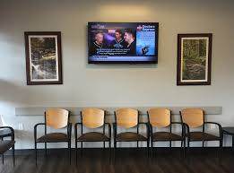 medical waiting room television custom tv networks