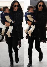 ugg womens mackie boots black spotted tamar braxton dines at mr chow ciara baby future jet