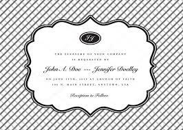 wedding invitation frame classic frame wedding invitation stock vector createfirst