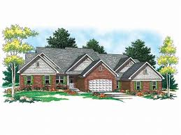 Multi Unit House Plans Multi Family House Plans Triplexes U0026 Townhouses U2013 The House Plan Shop