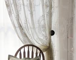 Shabby Chic White Curtains Shabby Chic Curtains Etsy