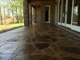 Tiling A Concrete Patio by Decorative Concrete Of Virginia Stained Concrete Stamped