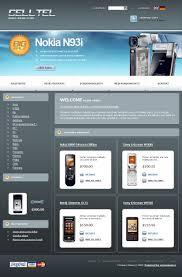 price plan design website template 21341 celltel mobile phone custom website