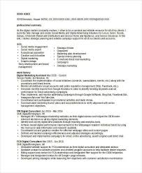 marketing resume templates in word 22 free word documents