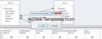 how to create or solve ms access enter parameter value access