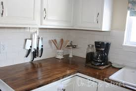 How To Install A Laminate Kitchen Countertop - wood kitchen countertops kitchen wood countertops kitchen