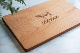personalized engraved cutting board custom engraved cutting board adirondack kitchen