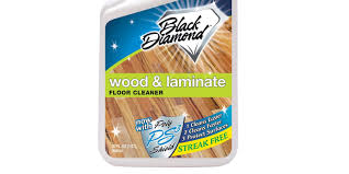 mopping laminate floors with