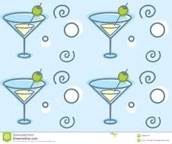 blue martini clip art martini pattern royalty free stock photography image 15596137