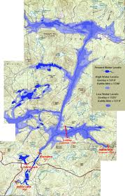 Hudson River Map New State Lands Proposed Upper Hudson River Dams The