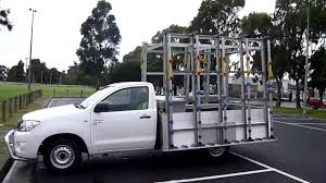 A Frame For Sale The Glass Racking Company Ute Glass Rack 2 7m X 2 2m Walk Around