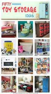 Toy Organization by Remodelaholic 50 Smart Toy Storage Solutions
