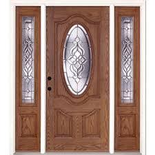Oak Patio Doors by Feather River Doors The Home Depot