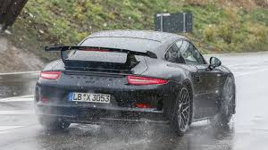 new porsche 911 gt3 2017 porsche 911 gt3 spied showing its new face