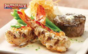 Filet Mignon Menu Pappadeaux Seafood Kitchen Filet Mignon U0026 Grilled Rock Lobster