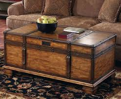 Rustic Chest Coffee Table Rustic Trunk Coffee Table Hardwood Cool Trunk Coffee Tables