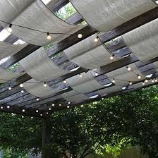 Small Patio Shade Ideas Non Traditional Pergola Patio Shades Ideas 10 Clever Ways To
