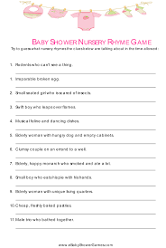 free baby shower game ideas wblqual com