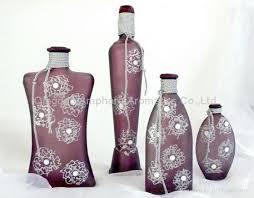 decorative glass bottles amphora aromatics china manufacturer