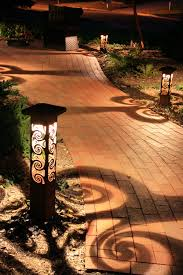 Landscape Path Lights by Our Ornate Lights Will Make Your Greenville Landscape Or Garden A