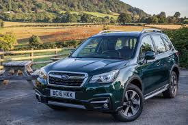 subaru green 2017 subaru forester special edition revealed auto express