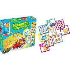 Common Jogo Da Memória Números Quantidades - Lalá e Lelê Brinquedos  @BF33