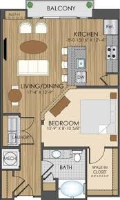 Two Bedroom House Plans by 2 Bedroom Floor Plan At Student Apartments In Charlotte House