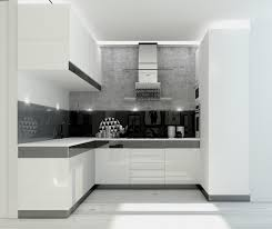 White And Black Kitchen Designs by Inspiration Kitchen Design In Black And White All Dining Room