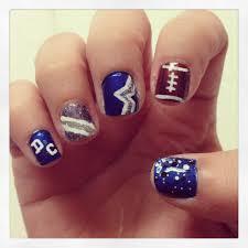 dallas cowboys nails dallas cowboys nail art pinterest dallas