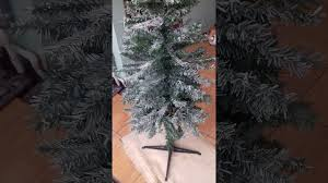 how to make tree with snow effect