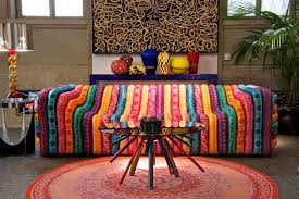 Ethnic Sofas Perk Up The Living Room With 15 Colorful Sofa Ideas Rilane