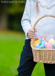 easter stuffers 15 non candy easter basket stuffers playdough to plato