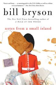 treasure island book report notes from a small island by bill bryson