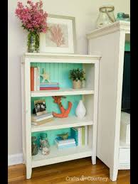 ideas for extra room annie sloan bookcase makeover ideas beaches and beach wall decor