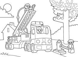 coloring pages duplo coloring