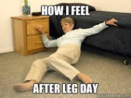 Leg Day Meme - how i feel after leg day life alert dick quickmeme