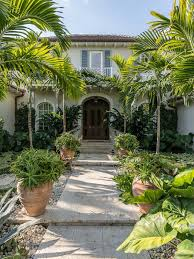 Florida Landscaping Ideas by Front Door And Plant Color Combos Hardscape Design Landscaping